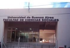 Foto UBA - Facultad de Ciencias Sociales Centro