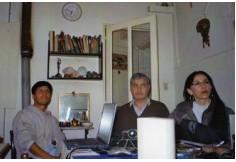 Alumnos de parapsicología I en clase práctica dictada por alumno de nivel profesorado.