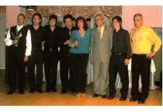 Colación de grado 2008. Egresados del Centro de Estudios con sus profesores.