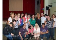 Despedida egresados 2010, organizada por alumnos y docentes.