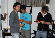 Alumnos en clase de Redes