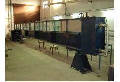 Laboratorio de Hidráulica. Canal Vidriado de Pendiente variable
