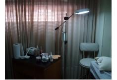 Tratamientos de gabinete - gabinete preparado para el taller de exfoliación y microdermoabrasión con puntas de diamante